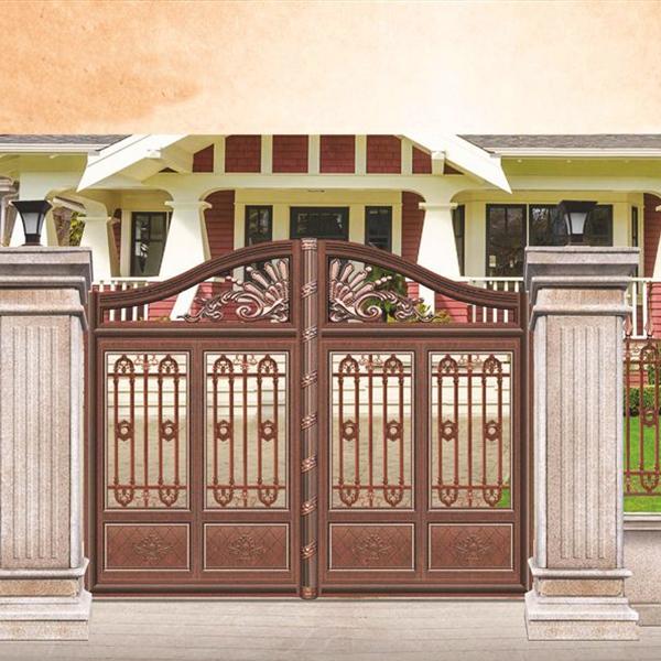 J-012 不锈钢庭院大门